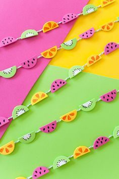 Diy Tiny Fruit Garland - 10 Tutty-Fruity DIYs to Freshen Up Your Summer