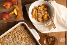 Two Southern favorites, peaches and bourbon, are combined in this easy and comforting dessert. Homemade Milk Chocolate, Apple Cobbler, Cobbler Recipe, Moist Carrot Cakes, Classic Desserts, Cream Cheese Filling, Toasted Coconut, Coconut Cream, Peaches
