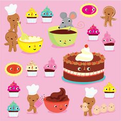 Cakes by Stella Baggott, via Flickr
