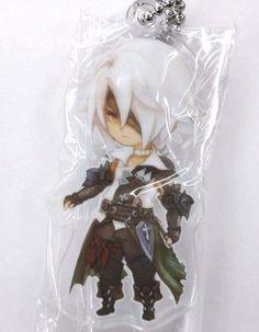 Final Fantasy XIV Eorzea Mini Acrylic Keychain Thancred Square Enix Game F/S