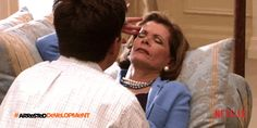 New trendy GIF/ Giphy. netflix arrested development huh oh no uh oh jessica walter lucielle bluth. Let like/ repin/ follow @cutephonecases