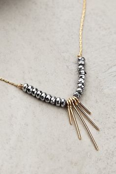 Zerene Necklace - anthropologie.com- except with a different center