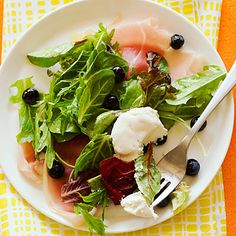 The Fighter: Blueberry and Prosciutto Salad
