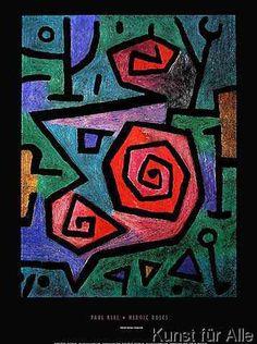 Paul Klee (1879-1940) In 1901 maakt hij een reis naar Italië en maakte de vroeg-christelijke en byzantijnse kunst indruk op hem. Vanaf 1902 woont hij in Bern en vervaardigt zijn etsen, beinvloed door Goya, Ensor en Beardsley. In 1905 woont hij in Parijs. In 1906 trouwen Paul Klee en Lily Stumpf.