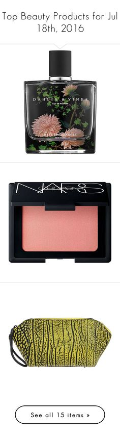 """""""Top Beauty Products for Jul 18th, 2016"""" by polyvore ❤ liked on Polyvore featuring beauty products, fragrance, perfume, beauty, makeup, fillers, nest fragrances, perfume fragrance, makeup tools and makeup brushes"""
