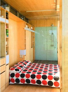 Port-a-Bach Shipping Container Holiday Home : TreeHugger