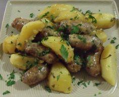 Salsice, Zitronen und Kartoffeln Rezept aus Apulien