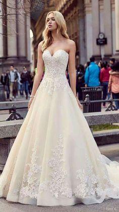 Best Wedding Dresses, Designer Wedding Dresses, Bridal Dresses, Wedding Gowns, Lace Wedding, Spring Wedding, 2017 Wedding, Trendy Wedding, Luxury Wedding
