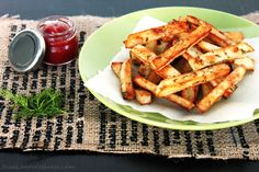 Dill Pickle Fries by @Jesse Lane Wellness - Holistic Nutritionist #glutenfree
