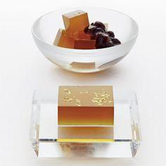 一番摘みの加賀棒茶を、涼菓子に。【金沢 謹製「献上加賀棒茶羹」生仕込み】
