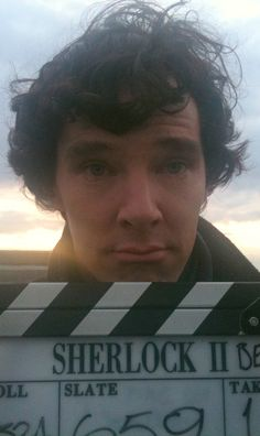Sherlock behind the scenes<--- Benedict, can you stop being adorable?! <-- You're right he's soo adorable!