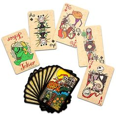 The Nightmare Before Christmas Playing Card Set