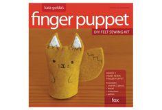 Kata Golda's Fox Finger Puppet DIY Felt Sewing Kit