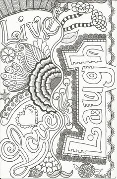 Coloring for adults -