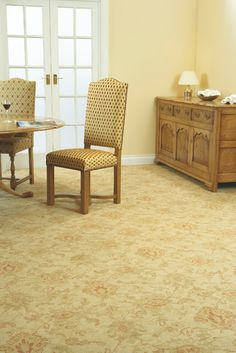 Persian Dynasty in Wentwood. Available at Rodgers of York. Parker Knoll, Axminster Carpets, Persian, Dining Chairs, Flooring, Traditional, York, Furniture, Google Search