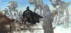 This Artist Masterfully Illustrates Scenes That Should've Been In Star Wars  - PopularMechanics.com