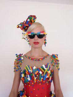 Fergie Lego Dress 'lego movie' premiere