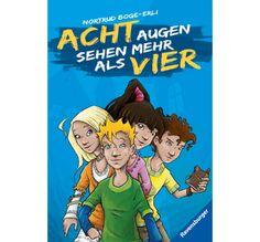 Acht Augen sehen mehr als vier Fiction Books, German, Comic Books, Comics, Children, Cover, Eyes, Deutsch, Young Children