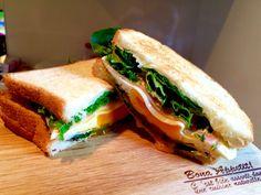 チーズハム卵サンド