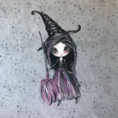 Sommersweat Panel Hexe Lila Halloween, Art, Lilac, Witches, Art Background, Kunst, Gcse Art, Spooky Halloween