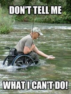 Dont underestimate a man in a wheelchair | amazing pics that will make you stop feeling bad about your situation.
