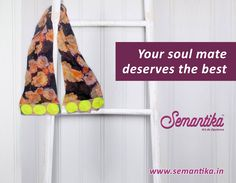 "Wrap yourself with the finest ""stole"" by Semantika and experience the feeling of being special. ‪#‎Semantika‬ ‪#‎Winterfashion‬ ‪#‎Stole‬  Shop now: www.semantika.in"