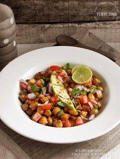 Chickpea Salad with Raw Mango