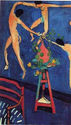 "Nasturtiums with ""The Dance"" (II), 1912 by Henri Matisse. Expressionism. interior. Pushkin Museum, Moscow, Russia"
