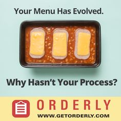 Orderly is the number one restaurant purchasing app. We're paperless, painless and online - manage ordering, invoicing, and inventory online.