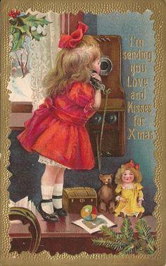 I'm sending you Love and Kisses for Christmas~~