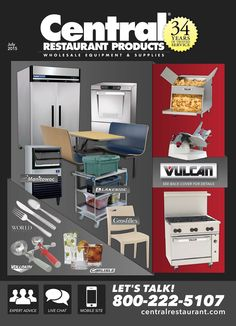 Enjoy Lowest Prices, Free Shipping on Vulcan Equipment with Central - Restaurant Supply & Restaurant Equipment Blog