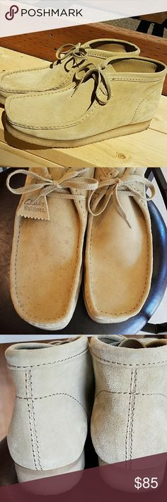 CLARKS WALLABEES Uppers shoes Clarks originals WALLABEES. Size 13. Great condition. Clarks Shoes