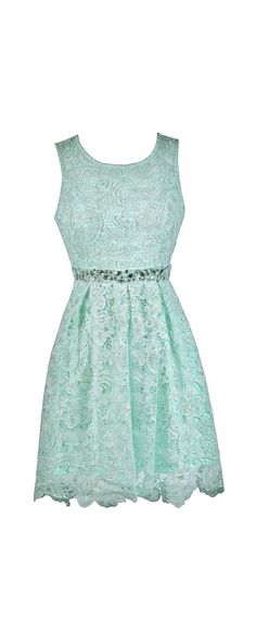 Lily Boutique Love Story Rhinestone Lace A-Line Dress in Mint, $40 Mint Lace Bridesmaid Dress Online, Cute Mint A-Line Dress, Cute Summer Dress www.lilyboutique.com Wish Dresses, Cute Summer Dresses, Dresses For Teens, Pretty Dresses, Beautiful Dresses, Dance Dresses, Prom Dresses, Event Dresses, Casual Dresses