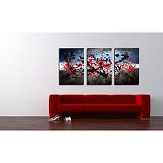 @Overstock - Environmentally friendly inks and canvas were used to manufacture this work of art. This Maxwell Dickson wall decor canvas art features its bizarre and tantalizing 'beautiful mind' design and a contemporary style. http://www.overstock.com/Home-Garden/Maxwell-Dickson-Beautiful-Mind-Abstract-Canvas-Wall-Art-Set-of-3/6448350/product.html?CID=214117 $284.99