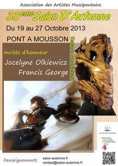 Affiche du 33e Salon d'Automne des Artistes Mussipontains