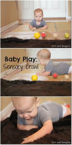 Combine crawling and sensory play into a sensory road of sorts. Place objects from around the house with different textures and lay them out down your hallway. See what else I added to keep my baby engaged in this sensory experience. Positive Parenting Solutions, Parenting Hacks, Safety Rules For Kids, Positive Discipline, What Is Positive, Baby Play, Infant Activities, Sensory Play, Adolescence