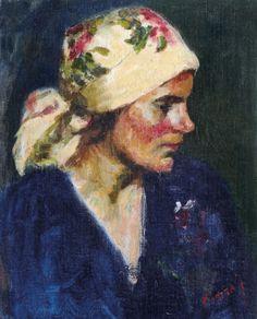 KOSZTA JÓZSEF (1861-1949) - Female portrait Female Portrait, Paintings, Artists, Art, Kunst, Paint, Painting Art, Painting, Painted Canvas