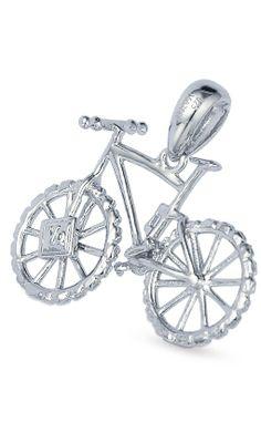 BicycleGifts.com - Mountain Bike Pendant by Vinqui, $42.00 (http://www.bicyclegifts.com/mountain-bike-pendant-by-vinqui/)