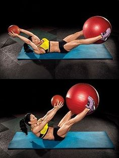 The Secret to... Ripped Abs Muscle and Fitness Hers by Bruceski