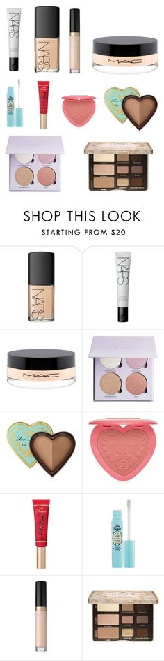 """Dance Competition Look"" by aristar04 ❤ liked on Polyvore featuring beauty, NARS Cosmetics, MAC Cosmetics, Anastasia Beverly Hills, Too Faced Cosmetics, BeautyTrend, Beauty and polyvoreeditorial"