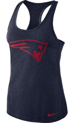 7046dc227 New England Patriots Women's Nike Dri Fit Performance Tank Top - FREE  SHIPPING! #Nike #NewEnglandPatriots