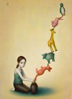 Matthew Pasquarello - Ascent of animals