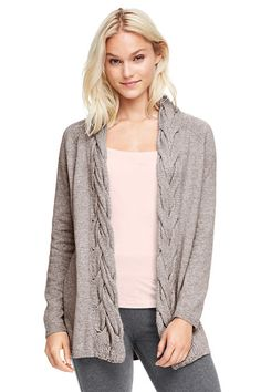 Women's Cable Cardigan Sweater