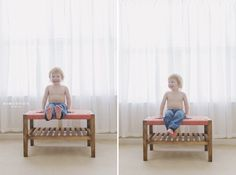Two year old boy portrait at home ~ raleigh lifestyle photographer » Kim OBrien Photography