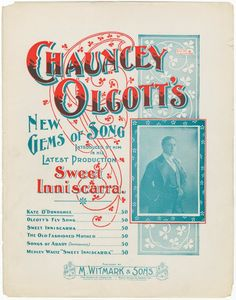 Kate O'Donoghue / by Chauncey Olcott. [I love a sweet little Irish girl. [first line]] sheet music cover design Vintage Sheet Music, Vintage Sheets, Christmas Sheet Music, Library Services, Vintage Type, Music Covers, New York Public Library, Old Art, Sleep