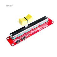 Freies verschiffen 1 stücke 10 k elektronische schiebepotentiometer modul einstellbar potentiometer für arduino