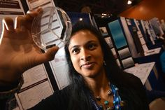 Eesha Khare.....creates a gadget small enough to fit within a phone so your phone can charge within 20-30 seconds.