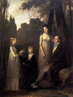 Pierre-Paul Prud'hon, Rutger Jan Schimmelpenninck with his Wife and Children, 1801-02,Oil on canvas, 263,5 x 200 cm, Rijksmuseum, Amsterdam