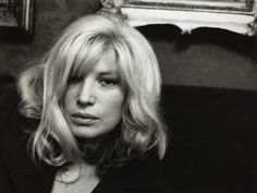 Helmut NEWTON :: Monica Vitti, Cafe Greco, Rome, 1985