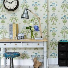 Morris & Co - Meadow Sweet Wallpaper